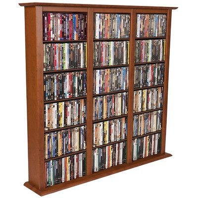 Venture Horizon VHZ Entertainment Regular Triple Multimedia Storage Rack Finish: Cherry