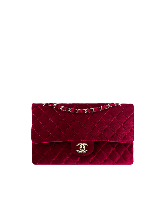 Velvet classic flap bag - CHANEL  f4a093695260e