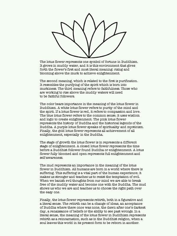 I Am Going To Get A Tattoo Of A Lotus Love The Meaning And It Is