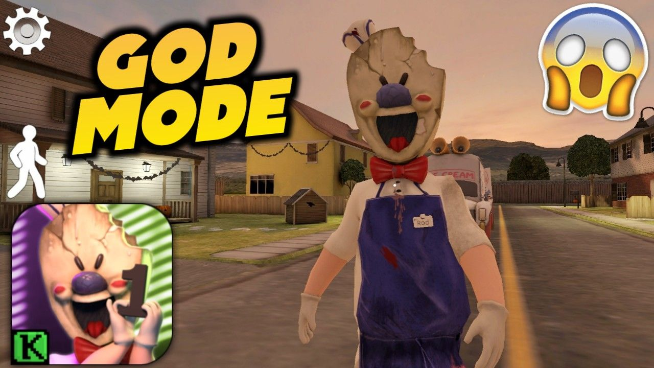 Ice Scream MOD APK 1.1.0 [GOD MODE] (With images) Ice