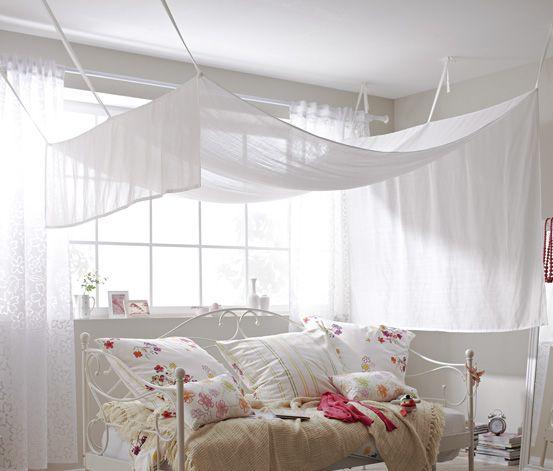 betthimmel rund ums haus pinterest betthimmel einfach und schlafzimmer. Black Bedroom Furniture Sets. Home Design Ideas