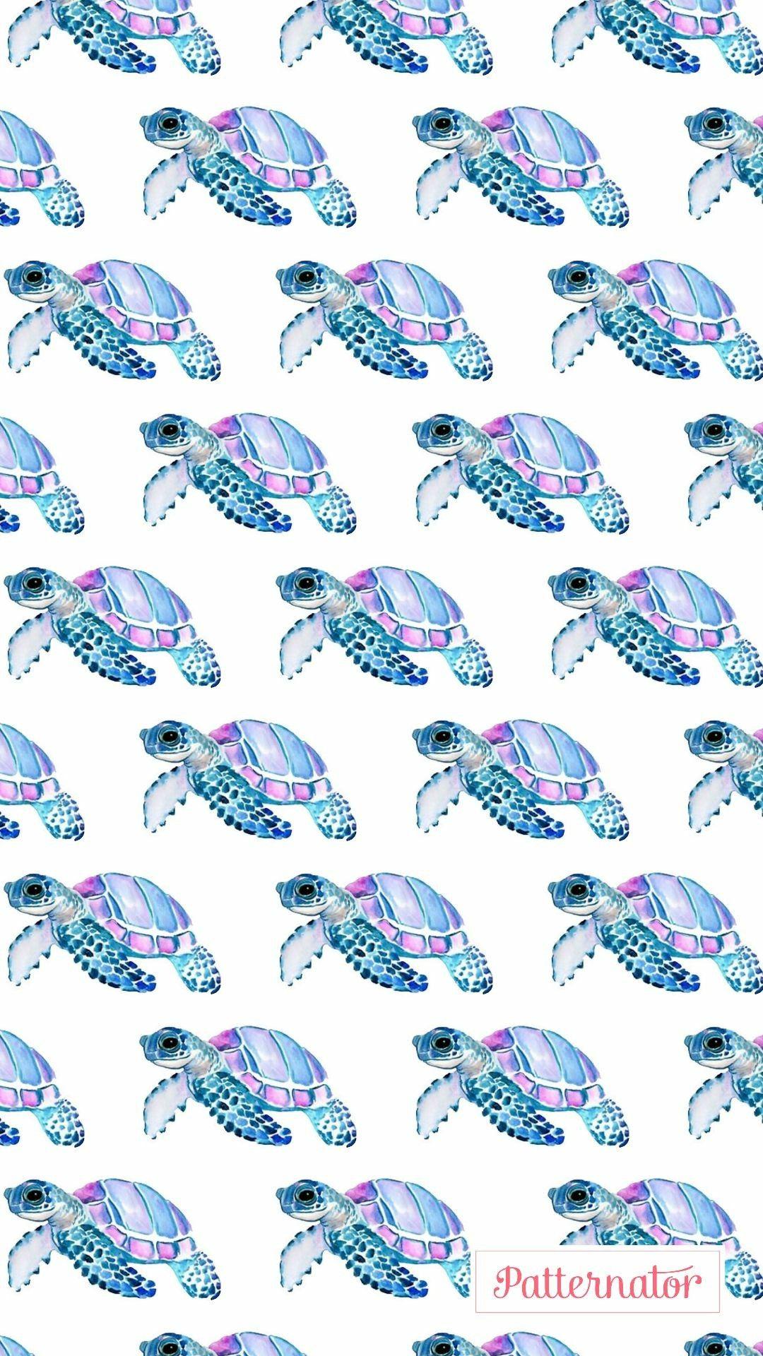 Wallpaper Tartaruga Flower Background Wallpaper Iphone Background Wallpaper Turtle Wallpaper