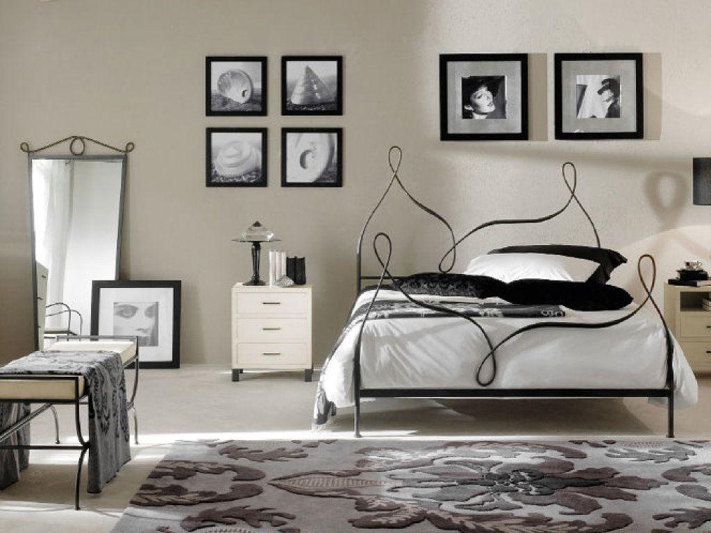 Diferentes diseños de combinaciones de dormitorios en hierro forjado