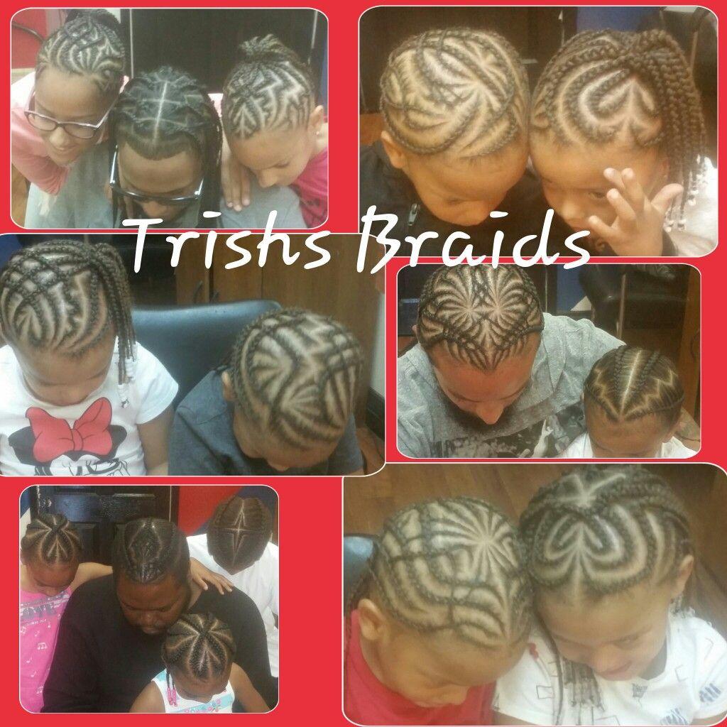 Gotbraidz braids cornrows kidsbraids heartbraids