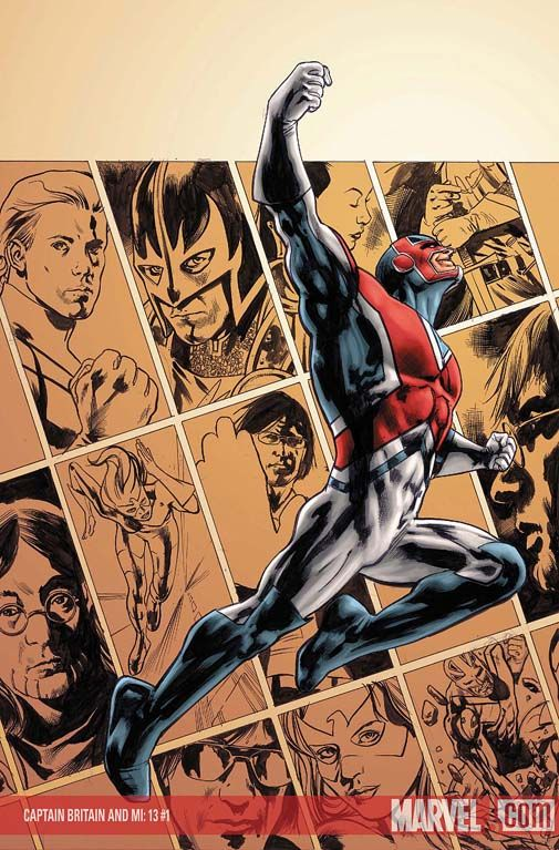 Captain Britain by Bryan Hitch