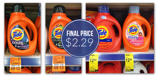 Tide Laundry Detergent As Low As 2 29 At Walgreens With Images