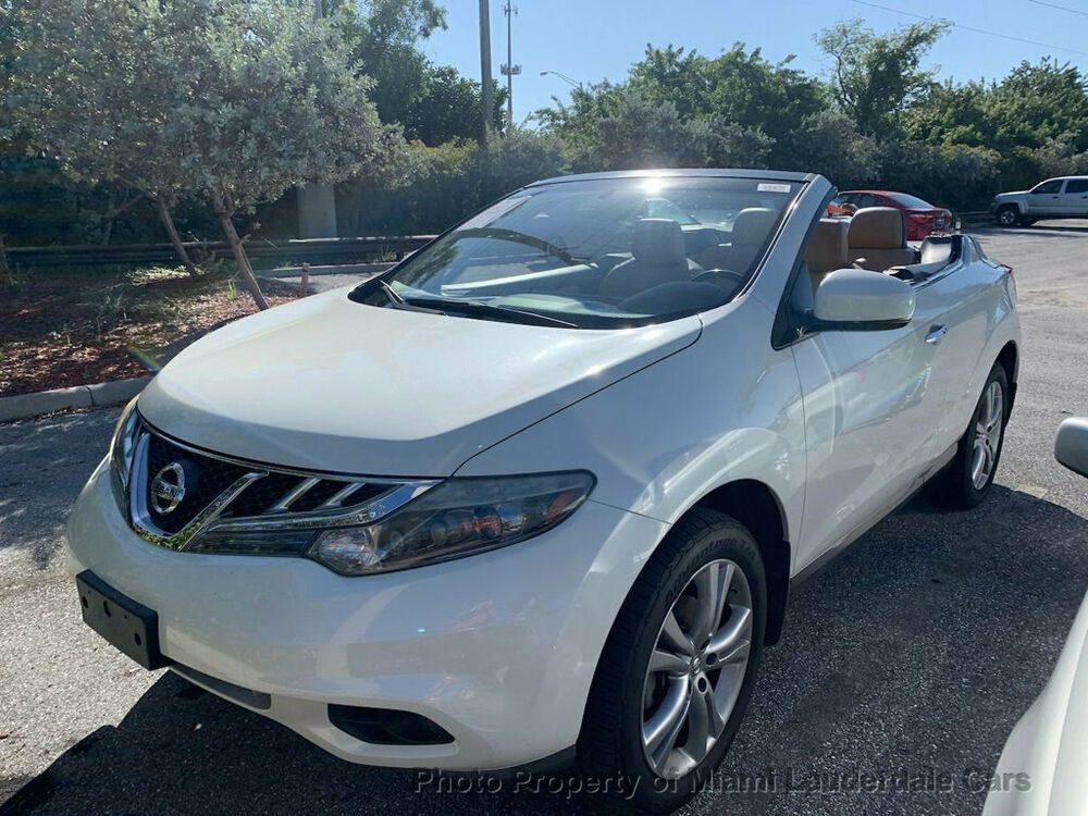 2011 Nissan Murano CrossCabriolet AWD Convertible AWD