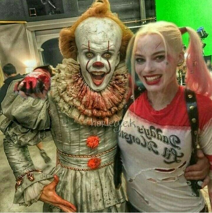 Harley quinn and pennywise (it)   Harley and Joker ...