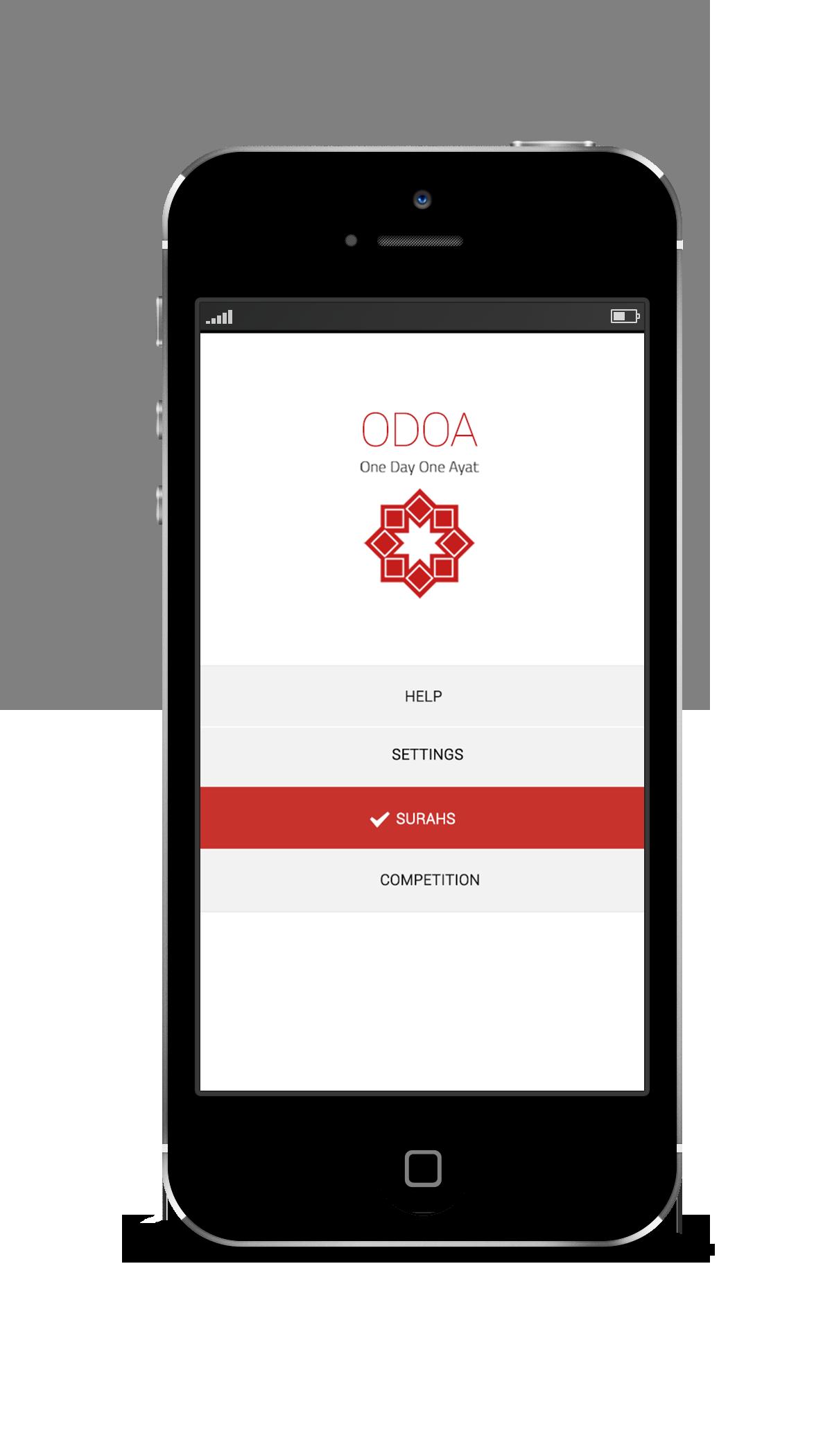 Aplikasi Odoa One Day One Ayat Aplikasi Untuk Mempermudah Umat