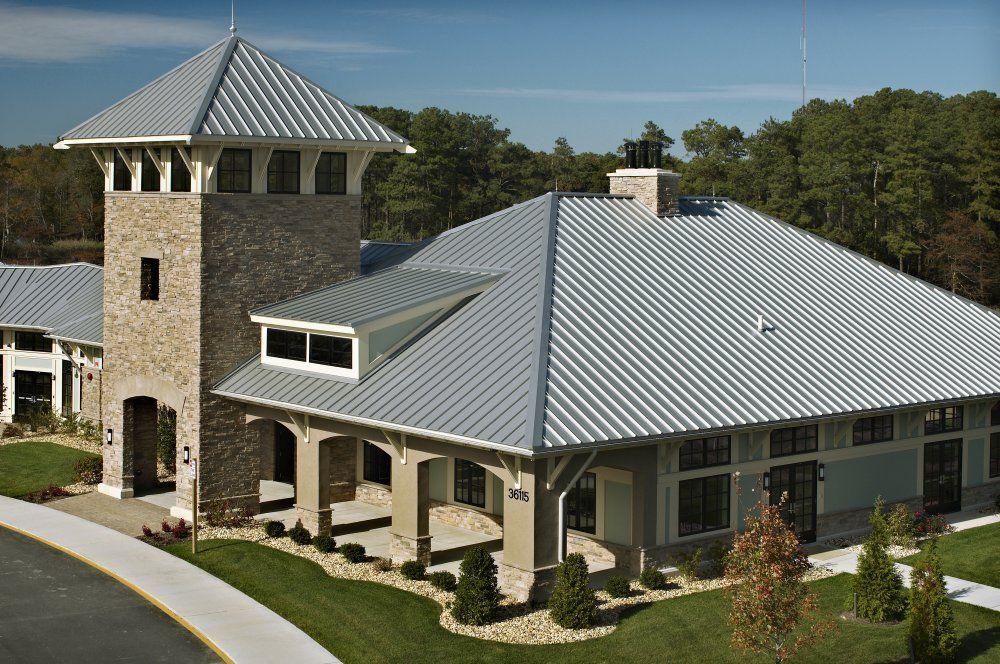 Harsh Environment Metal Roof Usage Metal Roof Club House Aluminum Metal