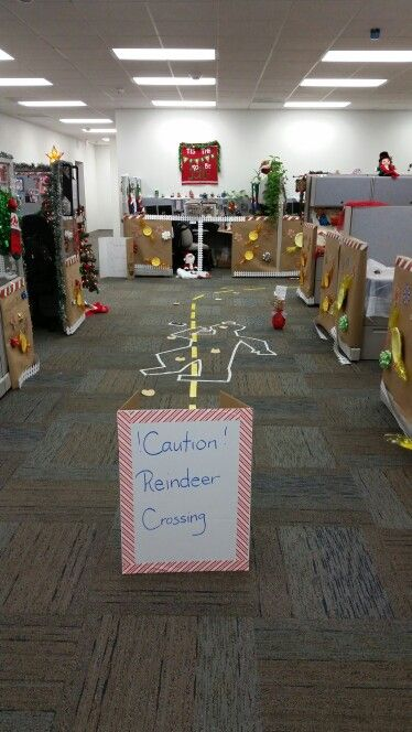 Office Cubical Grandma Got Ran Over By A Reindeer Office