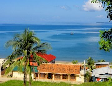 Trujillo Honduras Banana Beach Resort Hotel En