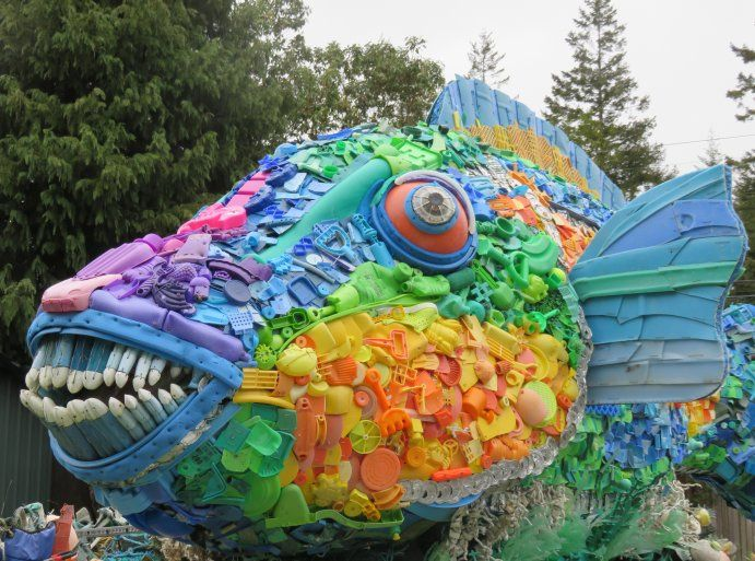 Washed Ashore: From Beach Trash to Ocean Art | Smithsonian Ocean ...