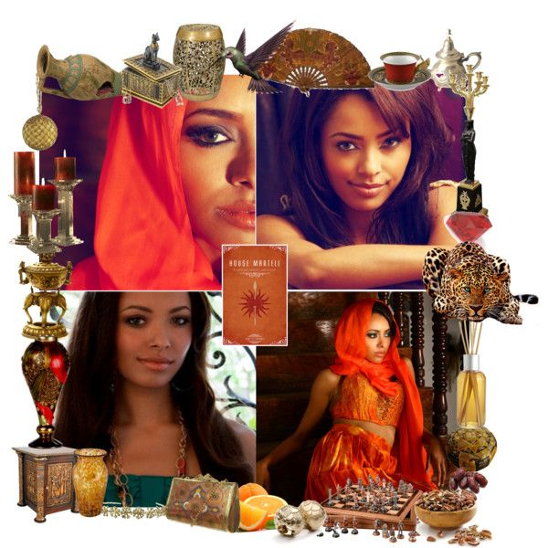 32. The Martell Family - Arianne Martell by petus-stastna-sufliarska on Polyvore
