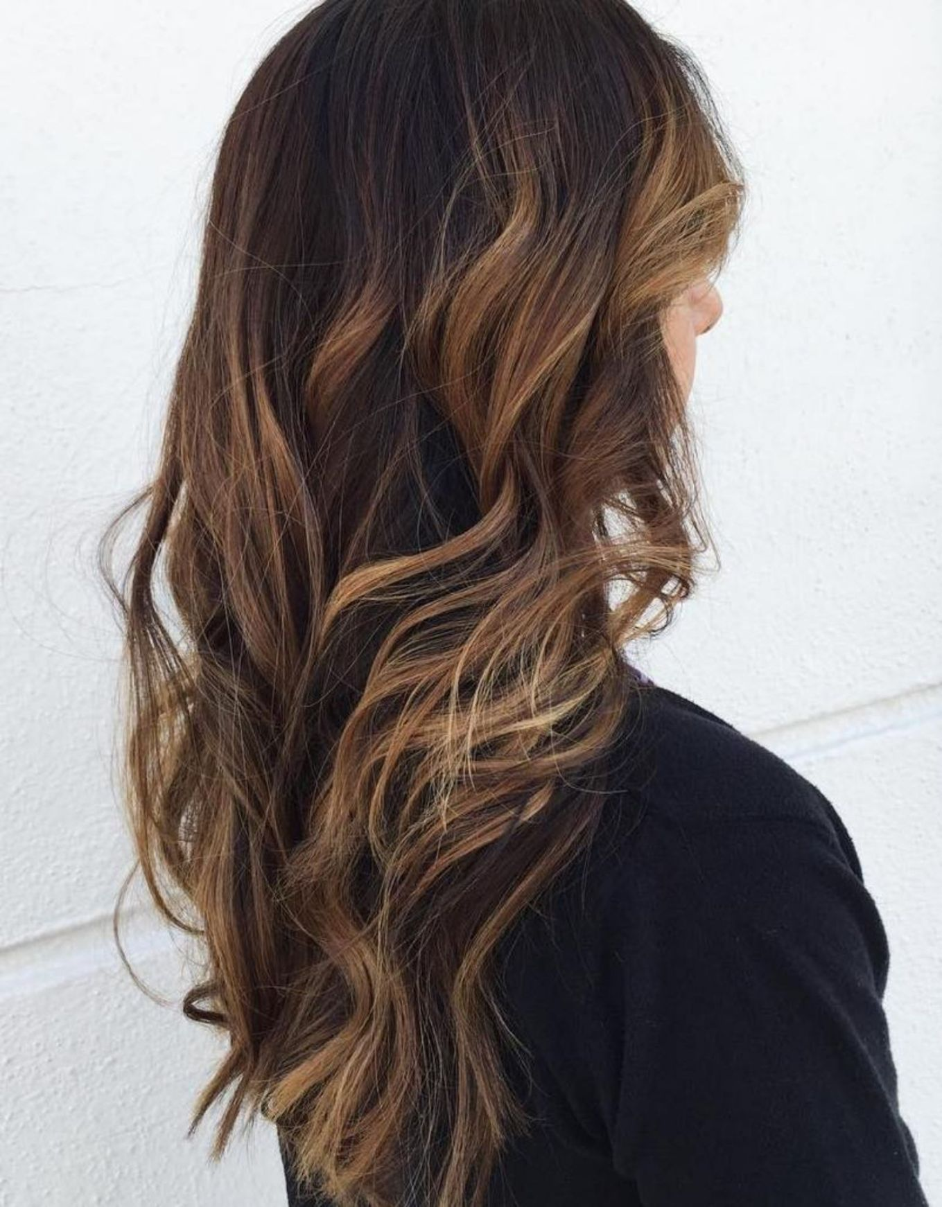 60 Hairstyles Featuring Dark Brown Hair With Highlights Hair Highlights Dark Hair With Highlights Brown Hair With Highlights