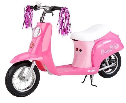 Razor Electric Scooter Pocket Mod Girls Pink Miniature