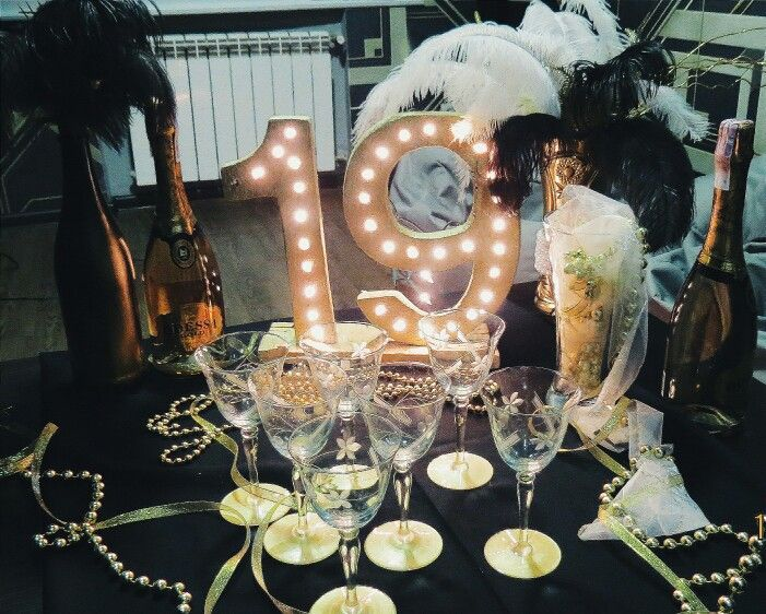 Great Gatsby Party Decorations Black And Gold Decorations 1920 S Decorations Nineteen Gatsby Party Decorations 21st Birthday Party Themes Fun Birthday Party