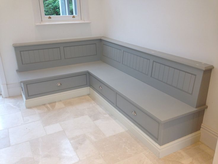 kitchen bench seating with storage