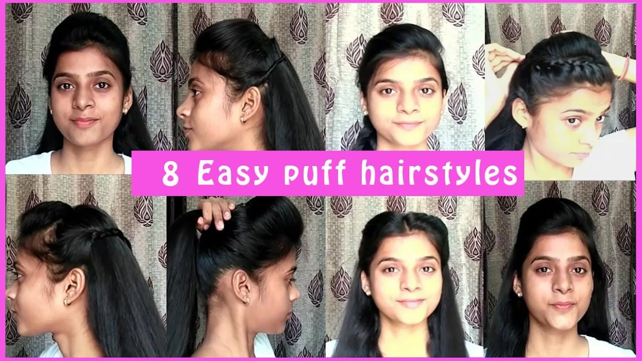 1111 easy puff hairstyles  11 min PERFECT PUFF  Everyday