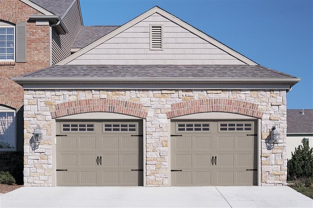 Garage Doors With Windows Styles c.h.i. overhead doors model 5283 steel carriage house style garage