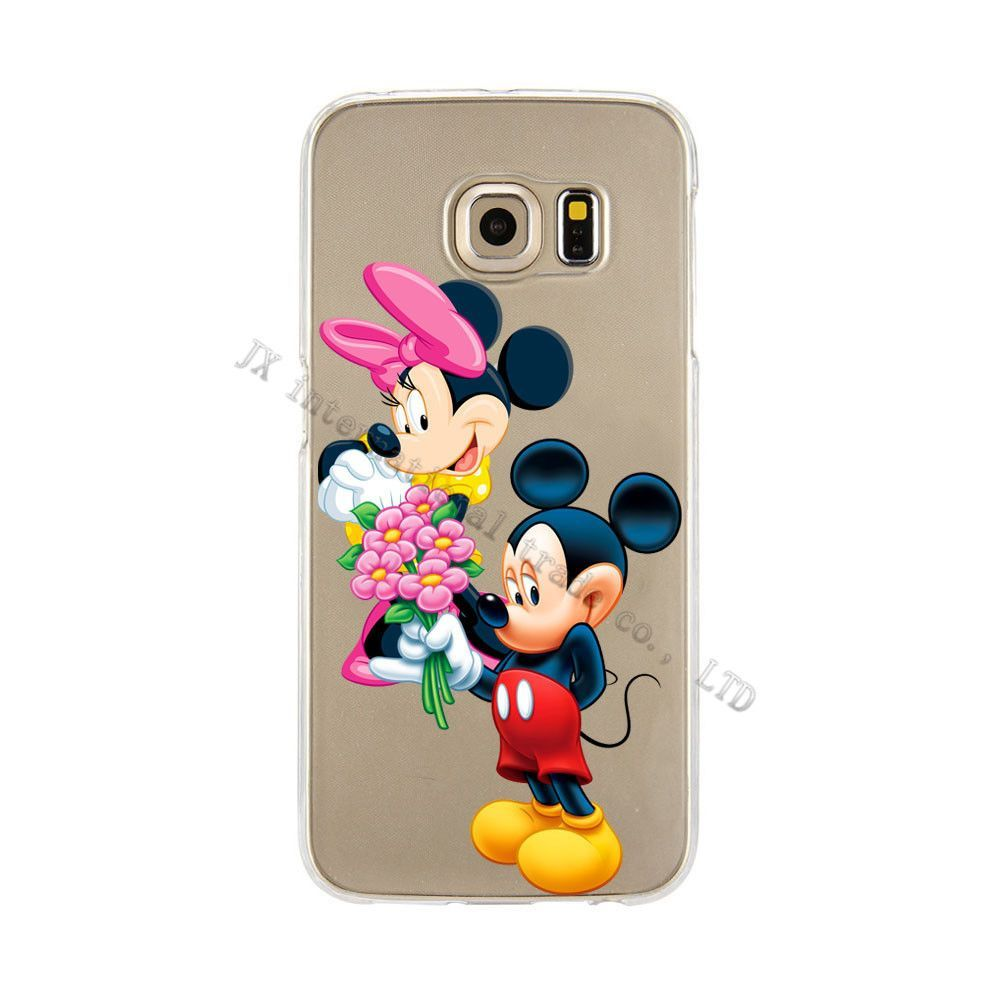 Mickey Minnie Donald Daisy Duck Pooh TPU Phone Case For Galaxy S3 S4 S5 S6 S7 Edge Plus S6 edge plus Note 5 A3 A5 A7 A8 J1 J5 J7