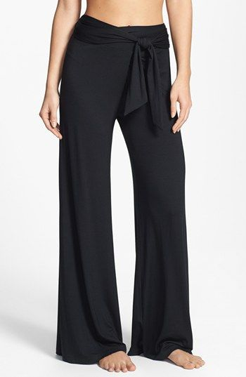 c643ad7db8 LOVE THESE! Elan Tie Waist Palazzo Pants available at #Nordstrom ...