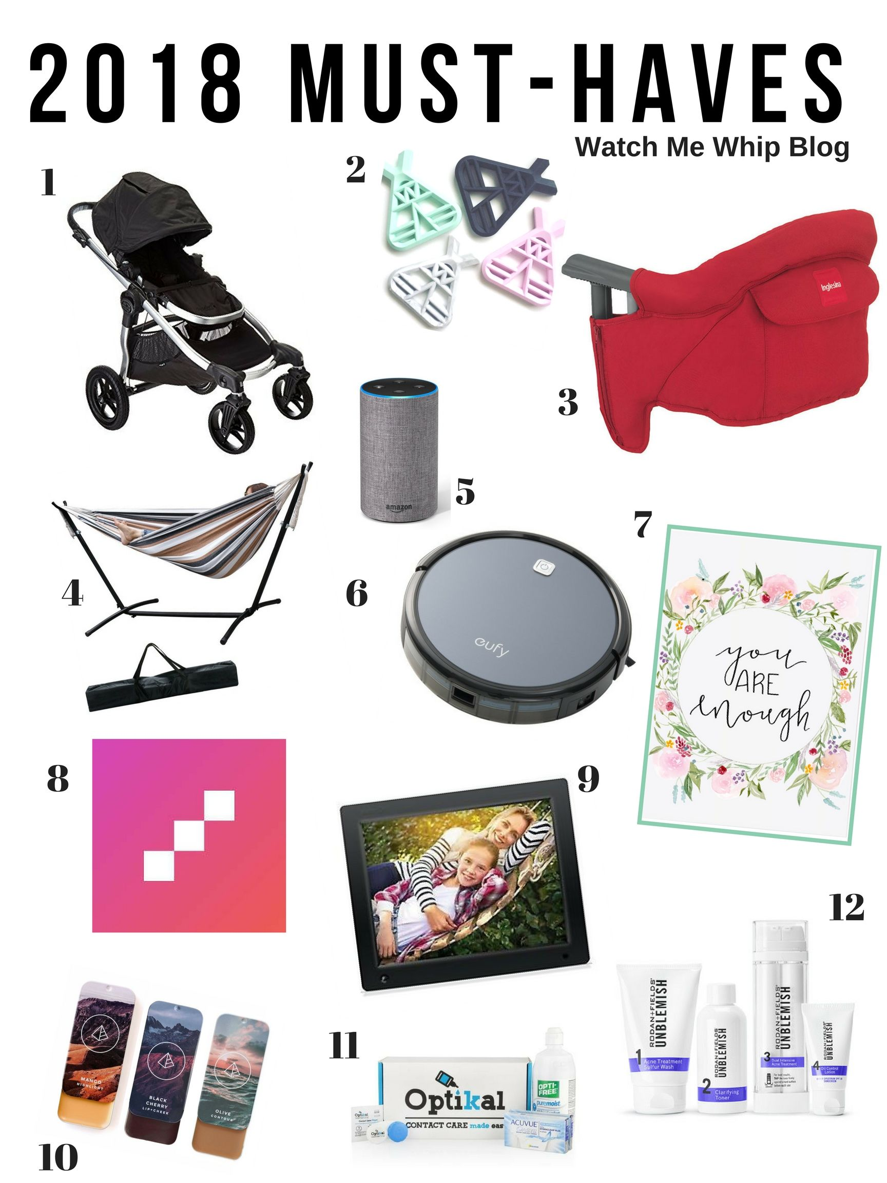 2018 Must Haves: 2018 Must-Haves. Everything You Need For Baby, Beauty And