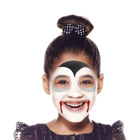 lady dracula face paint  beginners guide  snazaroo