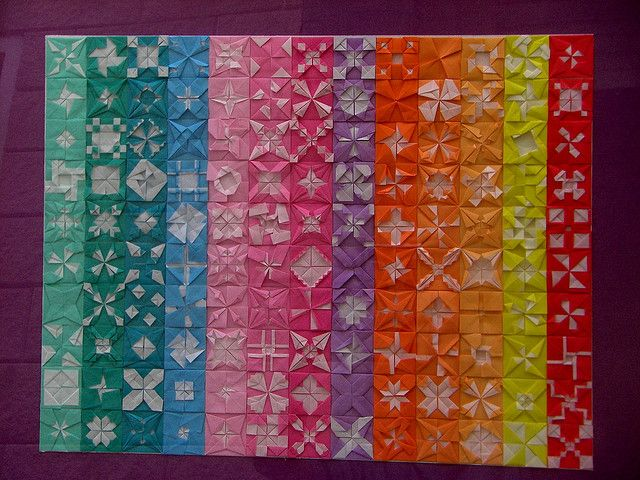 origami quilting