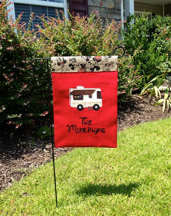 HOME IS WHERE WE PARK IT CAMPER RV SIGN GARDEN YARD LAWN ART OUTDOOR HOME DECOR
