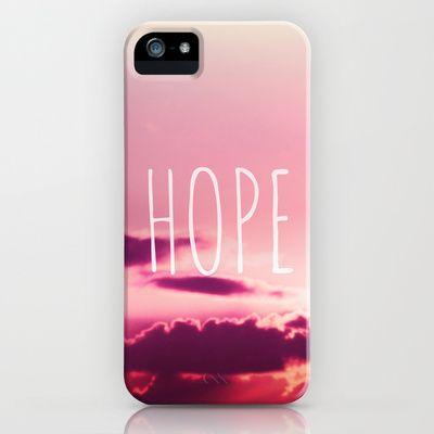 HOPE iPhone & iPod Case by SUNLIGHT STUDIOS  Monika Strigel - $35.00
