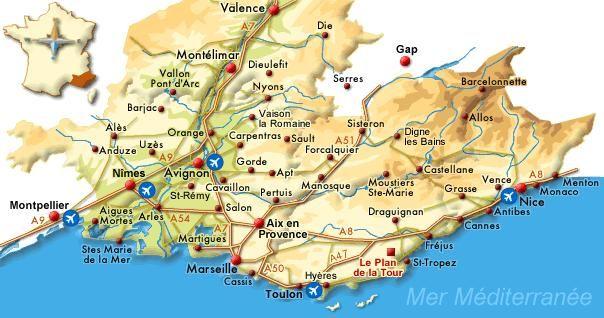 Le sud de la France Europa 2017 Pinterest