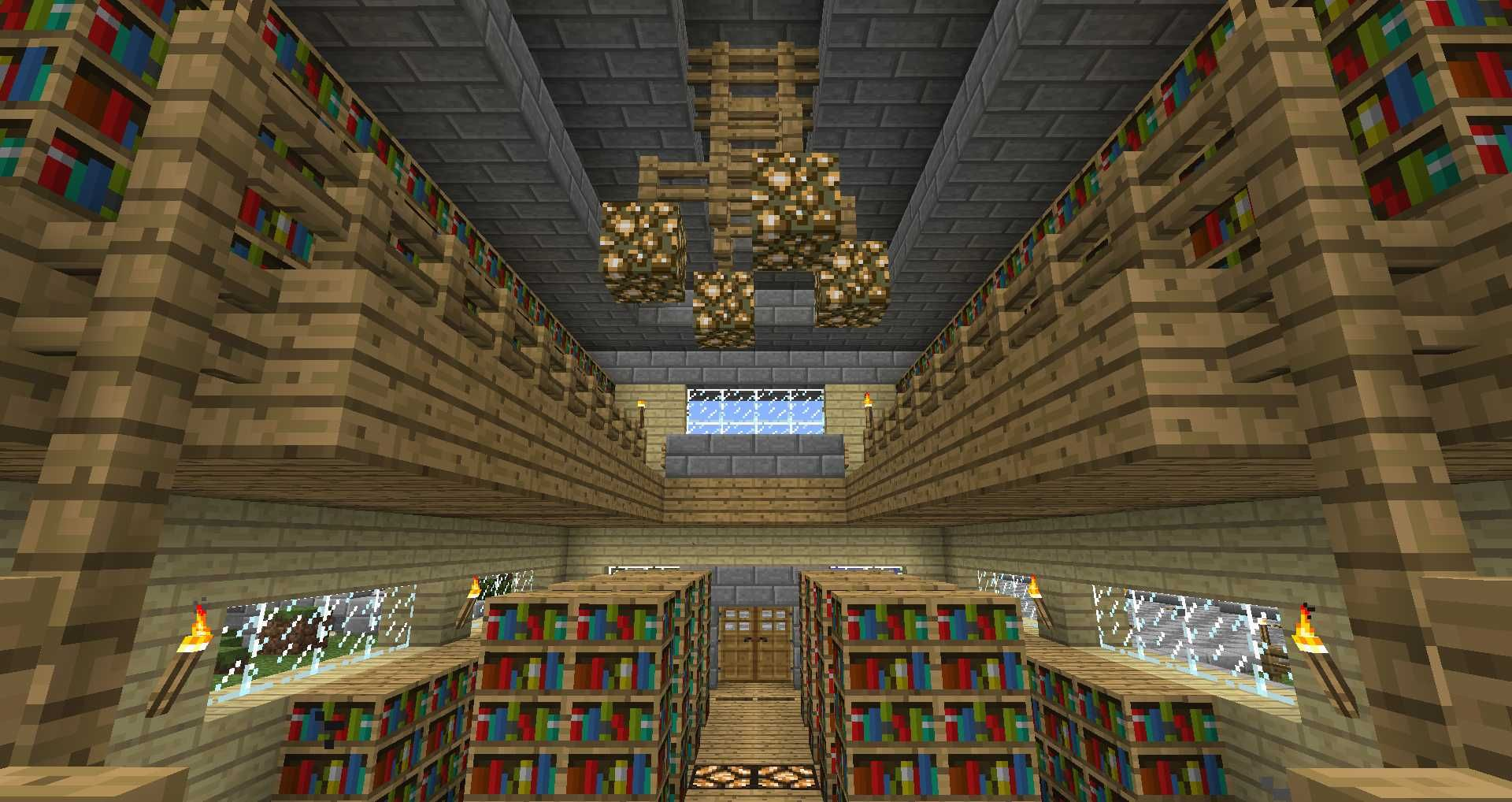La Bibliotheque Avec Table D Enchantement Bibliotheque