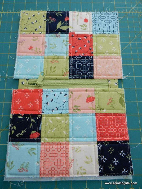 Photo of Pretty Patchwork Bag Tutorial | Quilting Tutorials | A Quilting Life