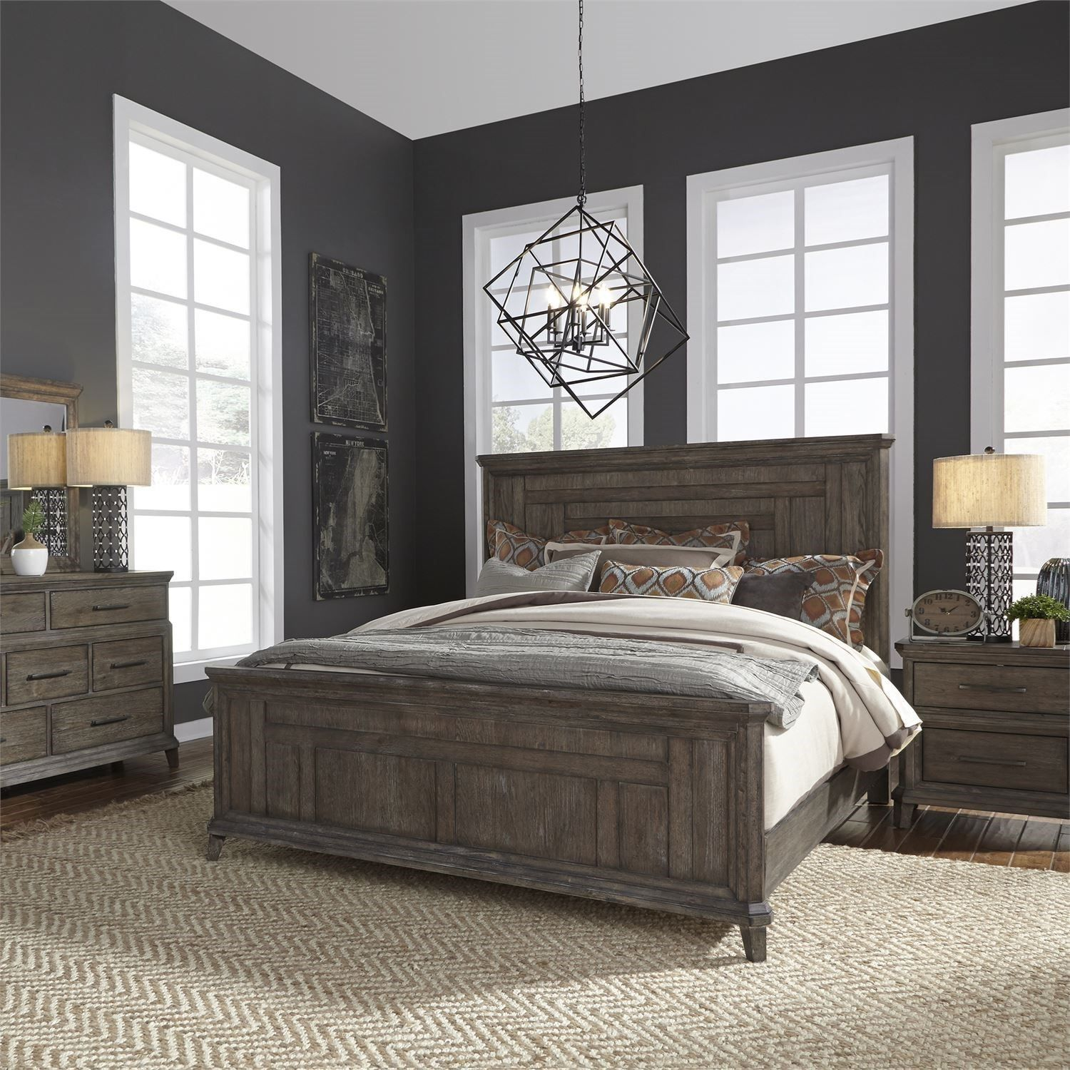 Artisan Prairie Queen Bedroom Group by Liberty Furniture