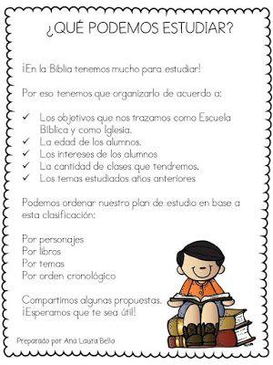 De los tales: Planificación … | Lecciones bíblicas infantiles | Pinte…