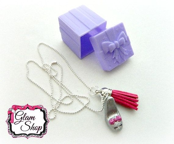 Shopkins Necklace Season 7 Shopkins Jewelry by GlamShopBeads