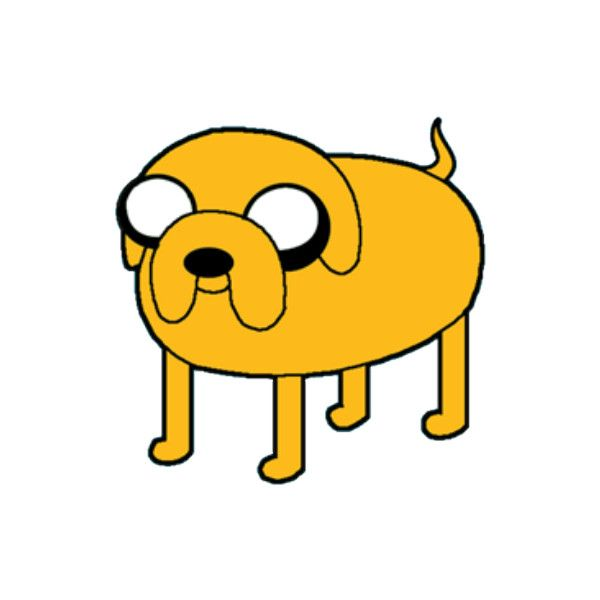 Jake The Dog, a Decal by galleom111 - ROBLOX (updated 3/3/2011... ❤ liked on Polyvore