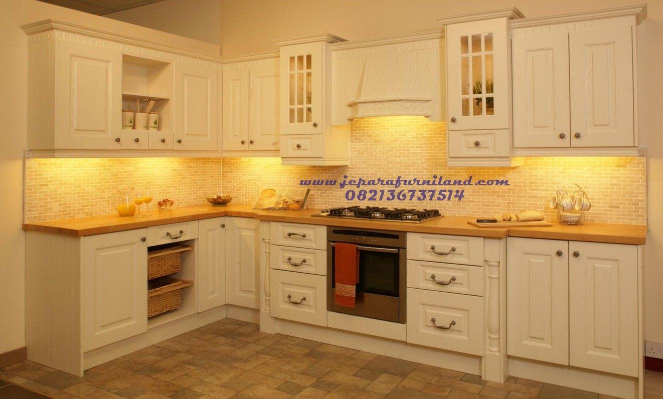 Model Dan Desain Kitchen Set Minimalis Permeter Kabinat Top Bawah Harga