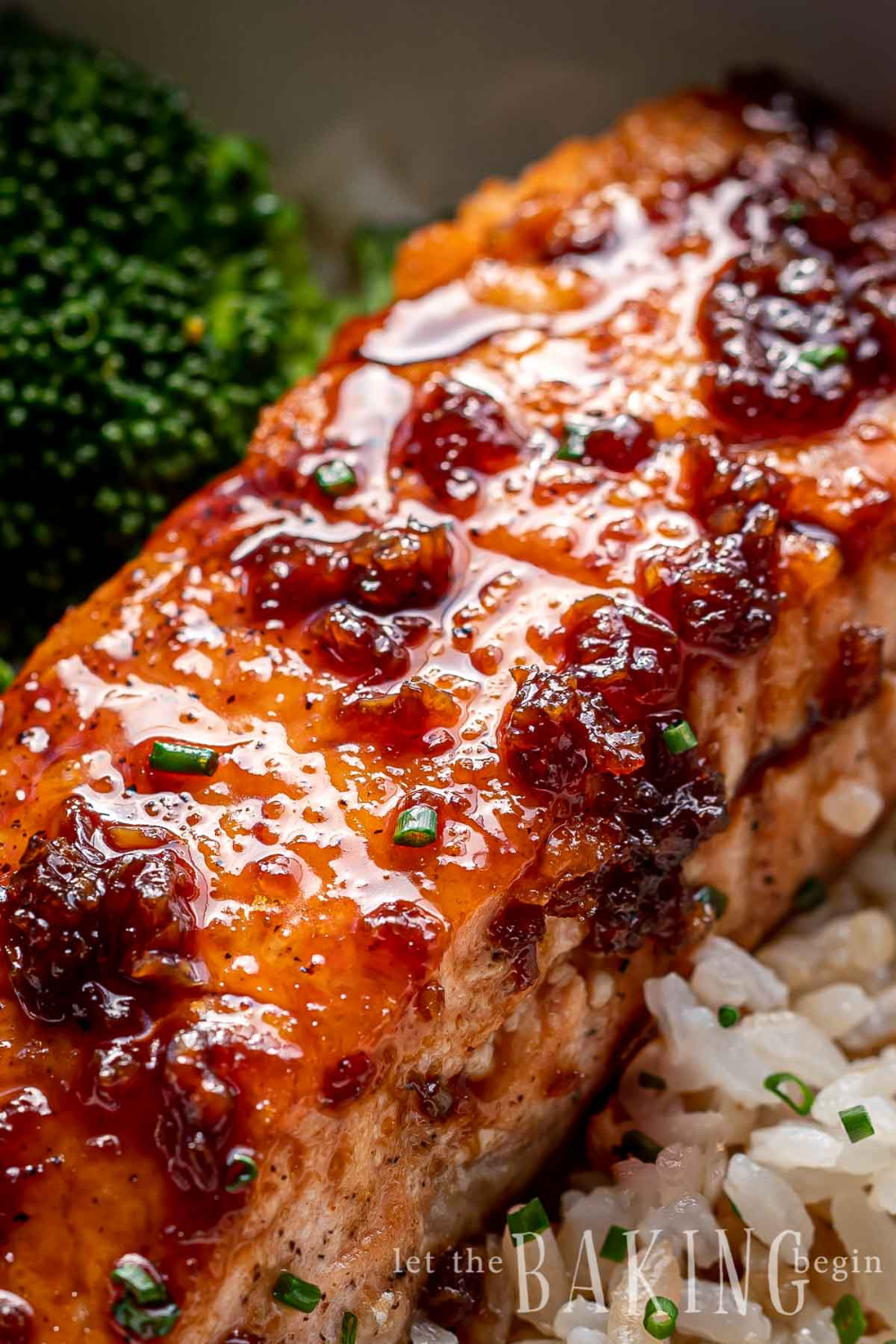 Garlic Ginger Honey Glazed Salmon is a simple pan seared salmon recipe topped with a delicious garlic ginger salmon glaze it's a flavor bomb!