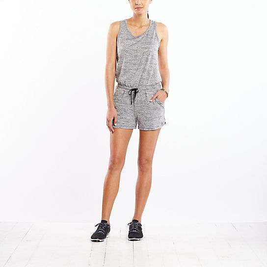 The destination is anywhere in this lightweight romper. From work to yoga to a night on the town, the options are limitless.