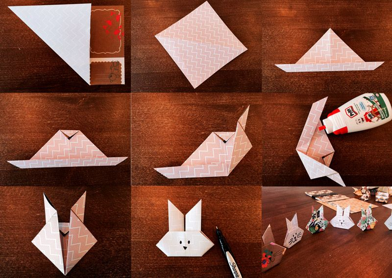 If my origami bunnies were a tad too difficult for you last week …