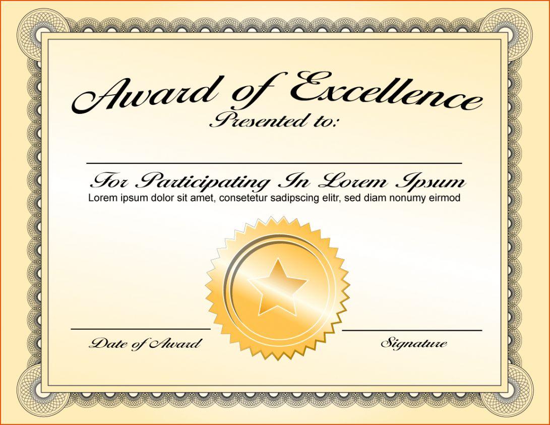 025 Template Ideas Certificate Of Appreciation Templates