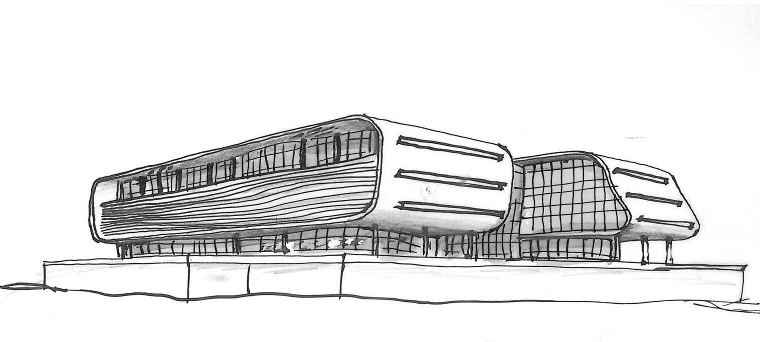Sketch Architecture Поиск в Google Клаузура Pinterest - Modern building sketches
