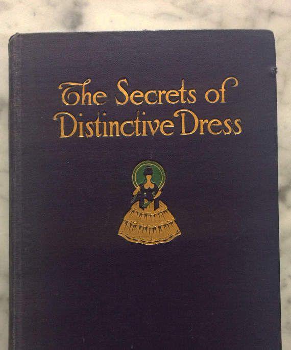 1918 Secrets Of Distinctive Dress 20th Century Beauty