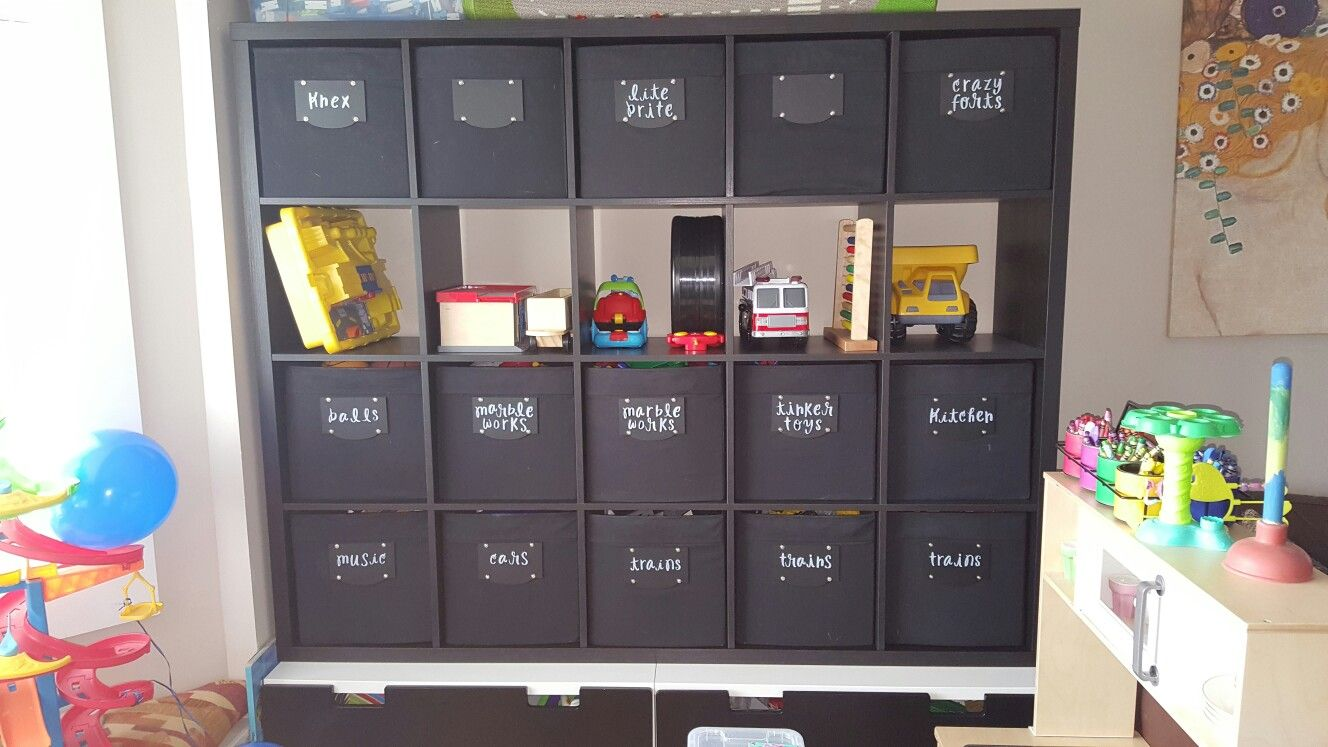 Ikea Drona Box Idea For Playroom Toys Labels Made Out Of Mdf