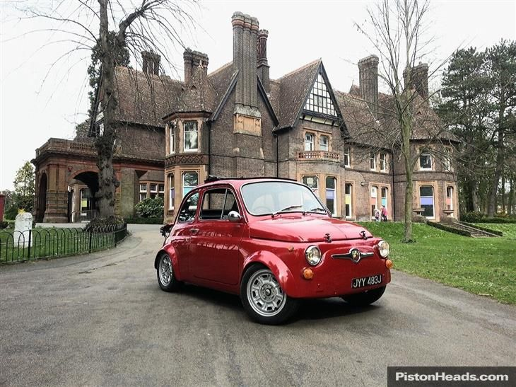 Used Fiat 695 Abarth Conversion By Radbourne Racing For Sale