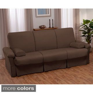 For Taylor Perfect Sit And Sleep Transitional Pocketed Coil Pillow Top Futon Chair Or Sofa Sleeper Bed Get Free Shipping At Com Your