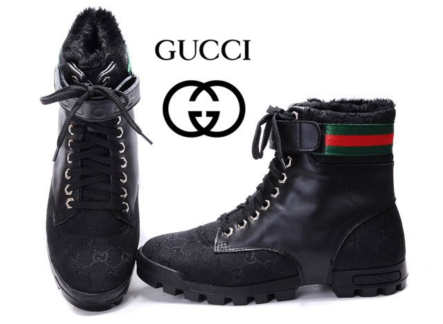 2cf15ffdc Gucci AAAA High Top Mens Shoes sale black | Gucci mens high shoes in ...
