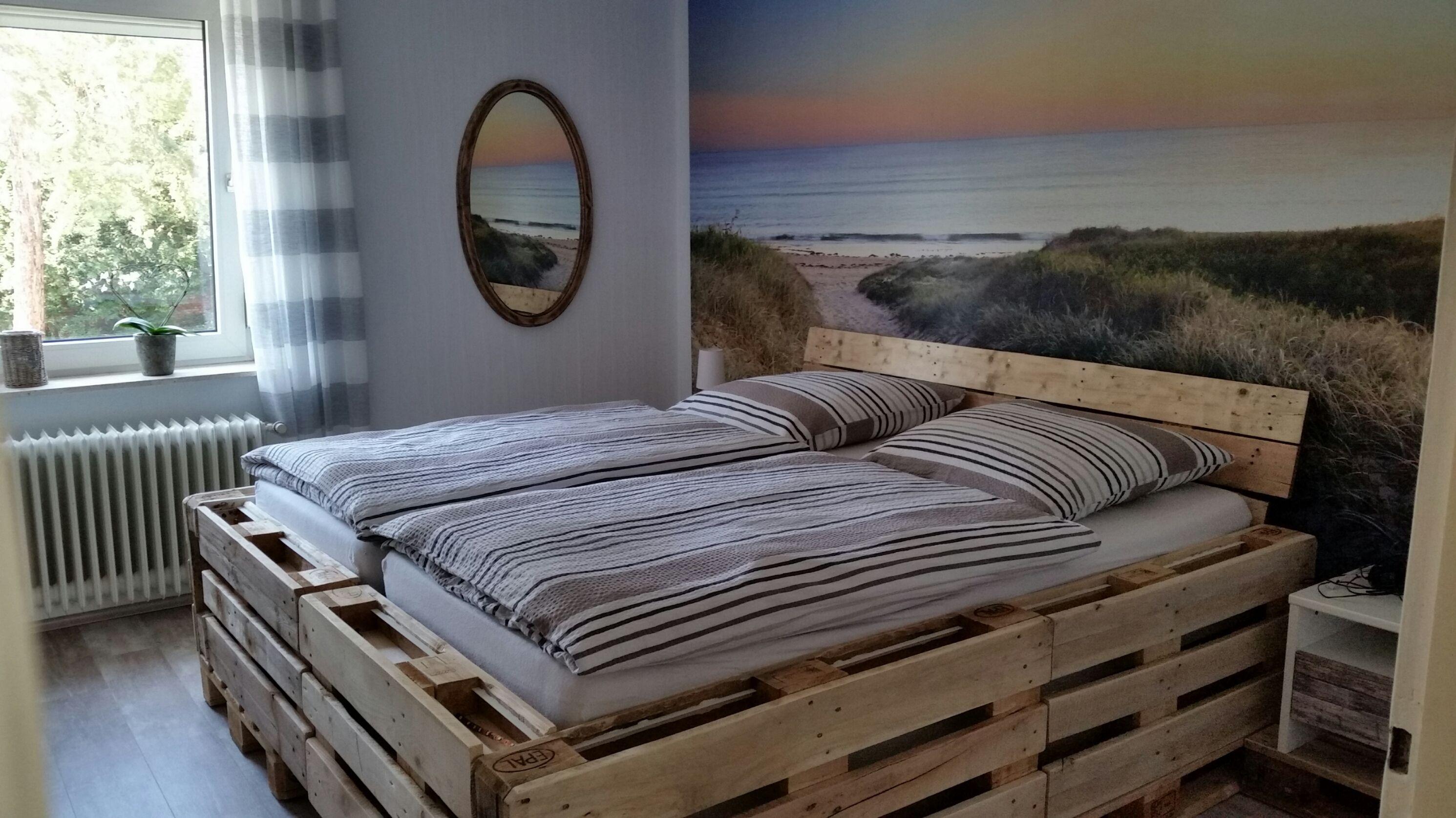 Euro Paletten Bett Mit Led Beleuchtung Bauanleitung Zum Selber Paletten Led Beleuchtung Europalette